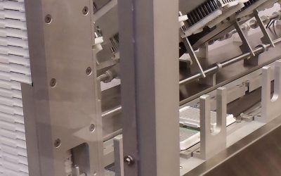 Quickspense walking beam transfer