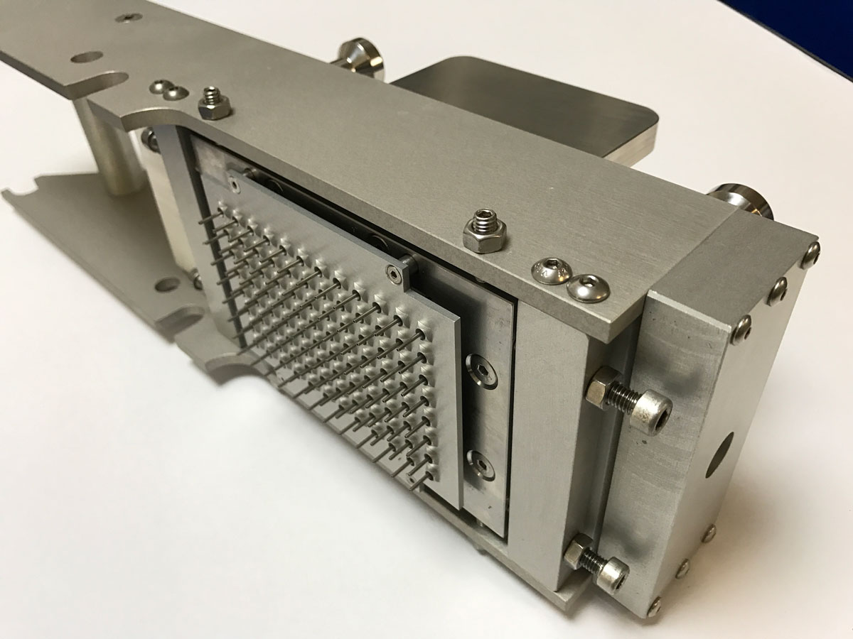 Diasorin 'quickspence' Walking beam transfer partial aspirator designed and built by Interactive Manufacturing ltd.